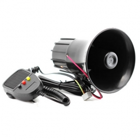 Megafone Automotivo 3 Sons Programados 30W 150Db Btr Bt-003